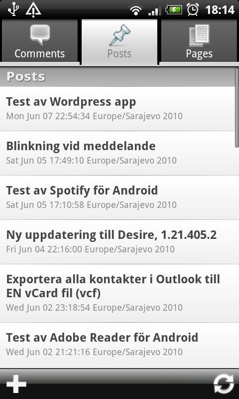 2. http   android.wordpress.org  76391349df083